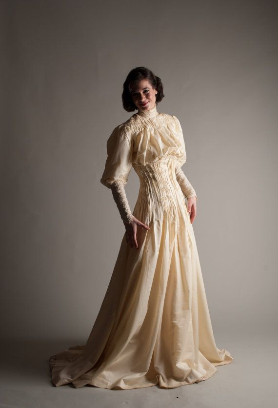 Early 1900s Wedding Gown Victorian By Concettascloset 142400 This Possibly THE Most Amazing Dress