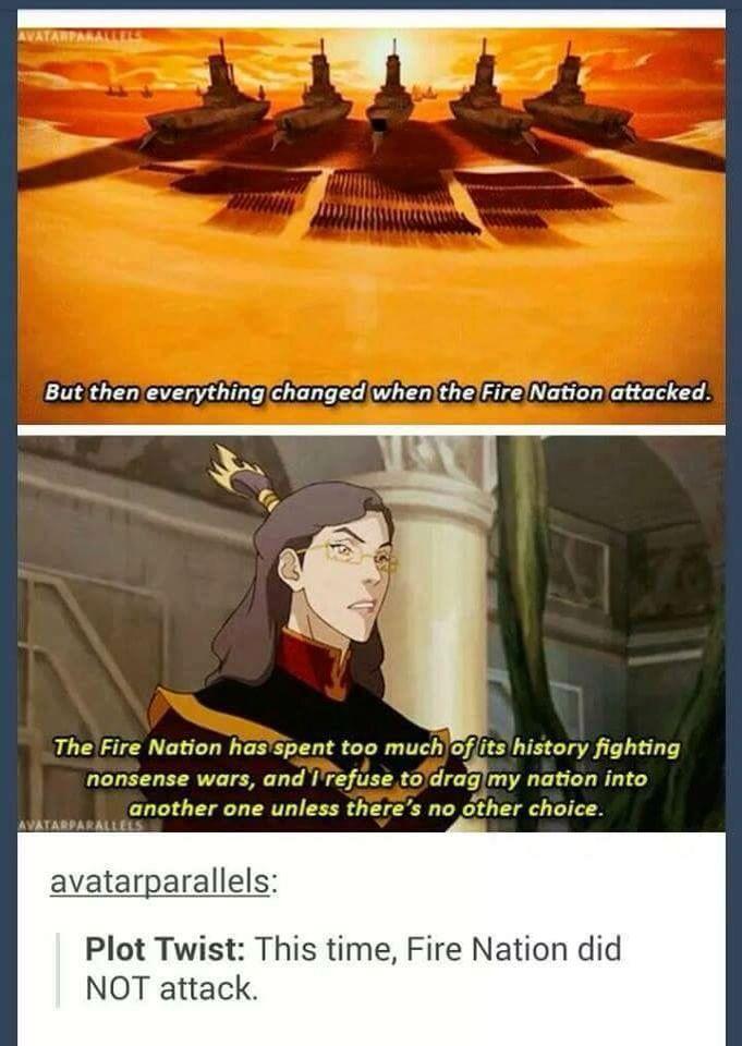 Avatar fire nation