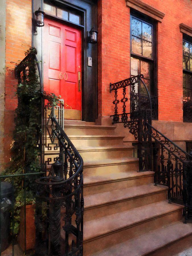 Greenwich Village Brownstone with Red Door Rent Directcom