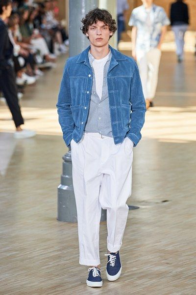 Officine Générale Spring 2020 Menswear Collection – Man fashion