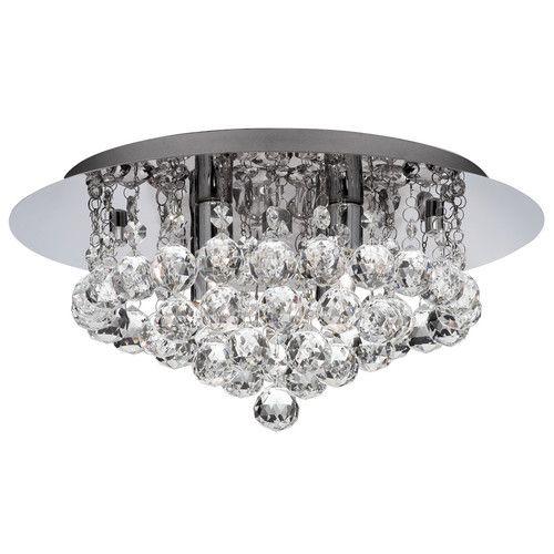 Searchlight 4404 hanna chrome 4 light bathroom fitting from bathroom ceiling lights uk
