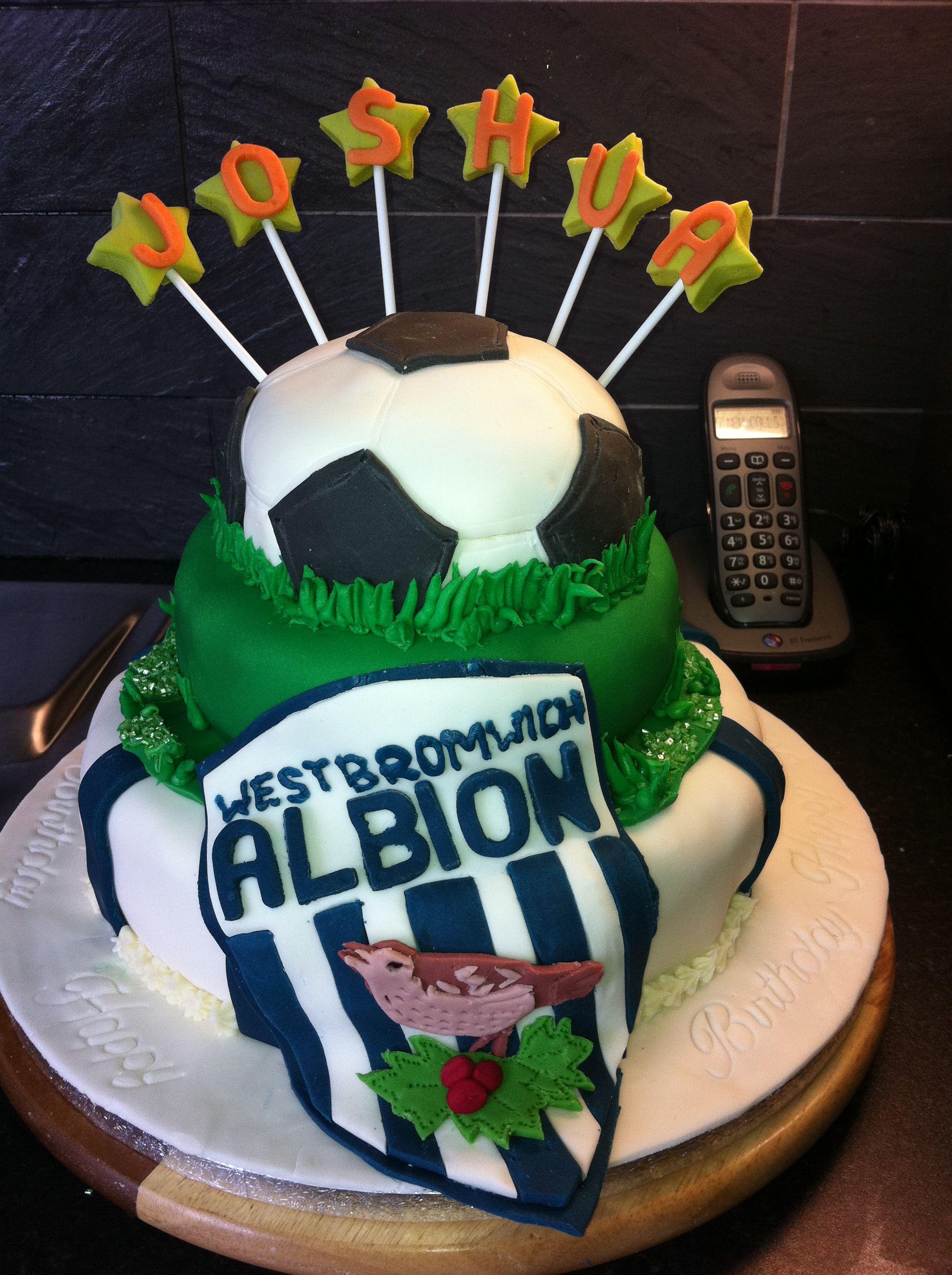 West Bromwich Albion Birthday Cake