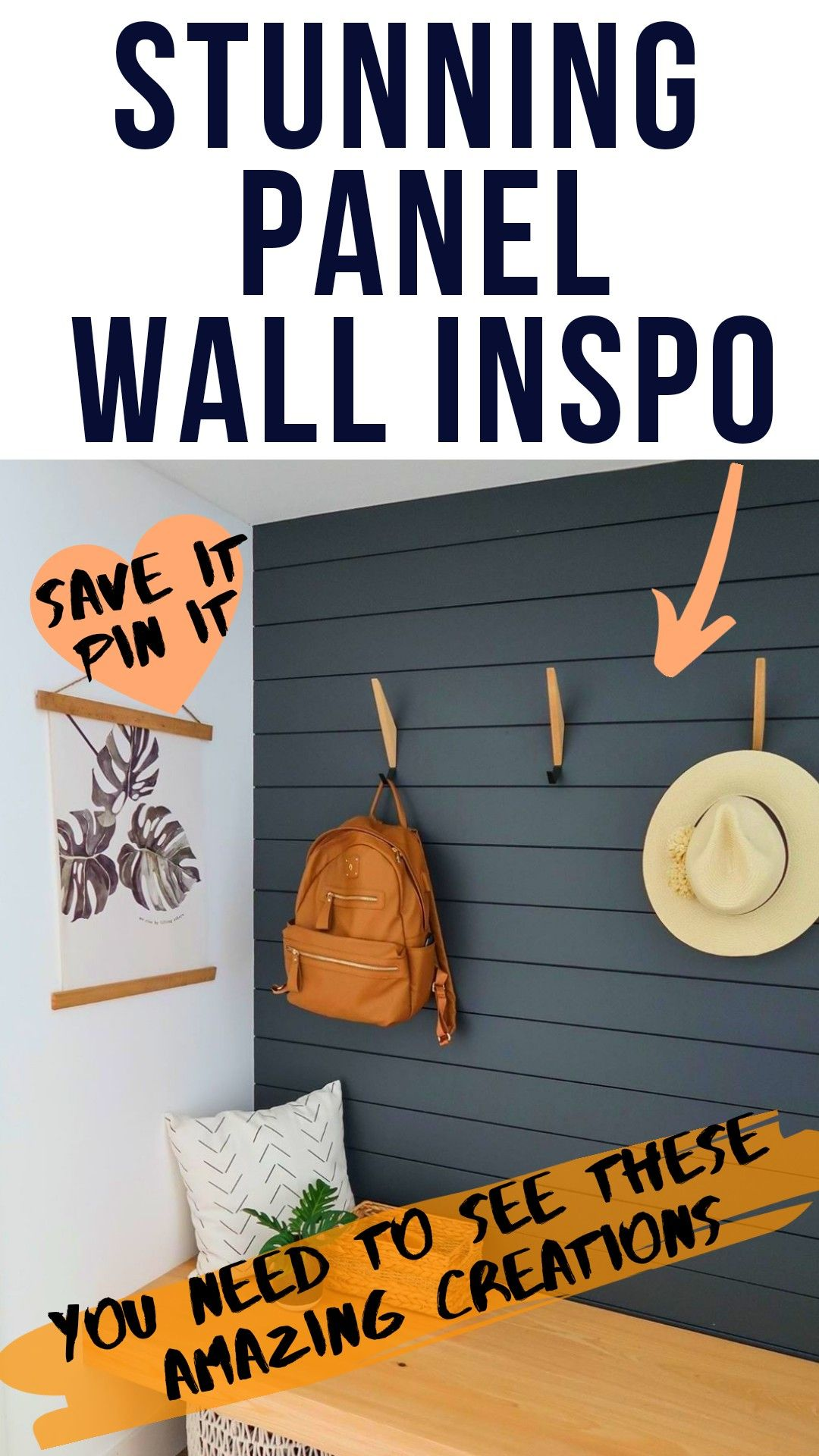 13 Wooden Panel Wall Ideas And Inspo in 2020 | Wood walls ...