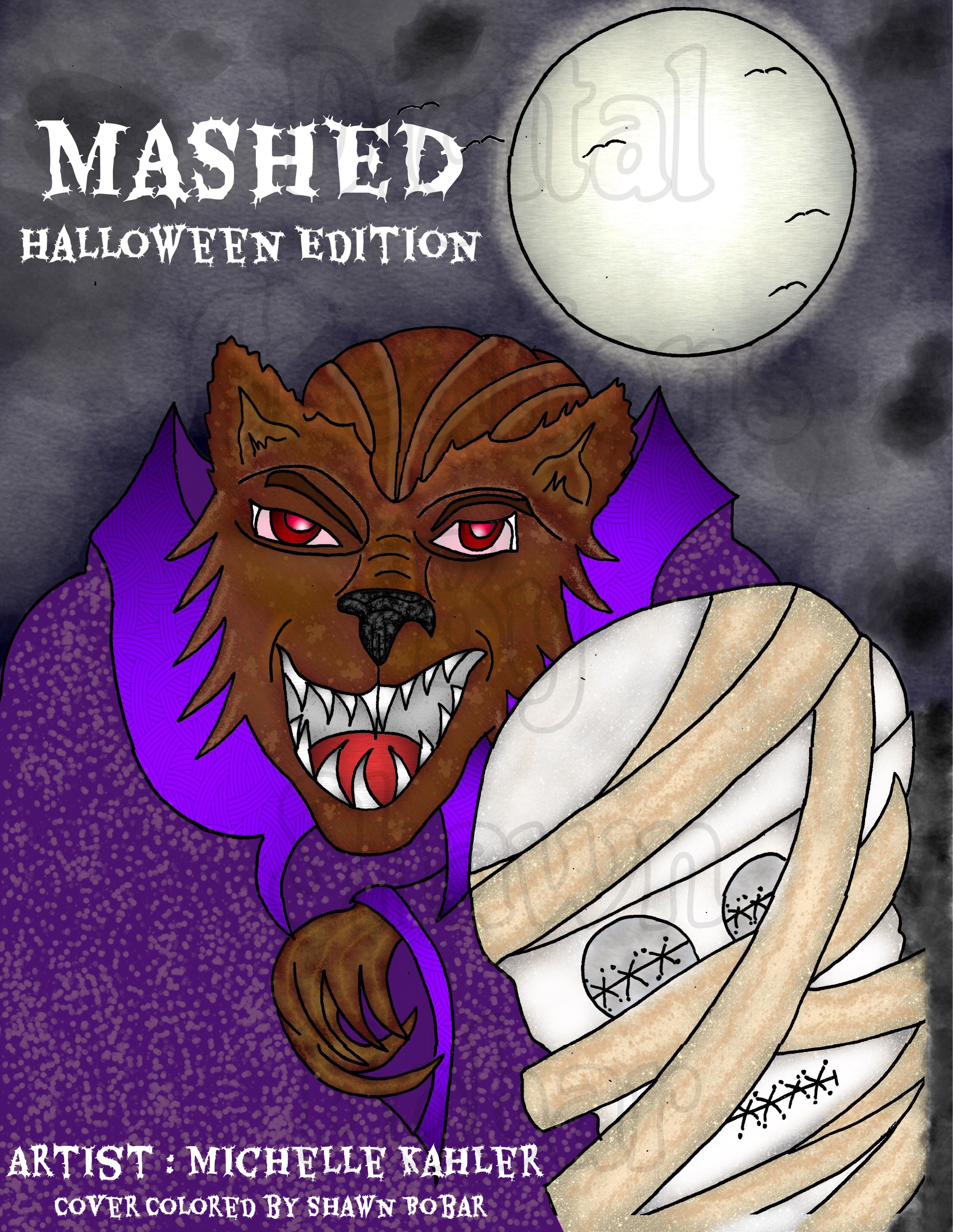 Artist Is Michelle Kahler For Her New Book Digital Creations By Shawn Bobar Digitally Colored