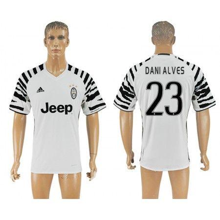 Juventus 16-17 #Dani Alves 23 3 trøje Kort ærmer,208,58KR,shirtshopservice@gmail.com