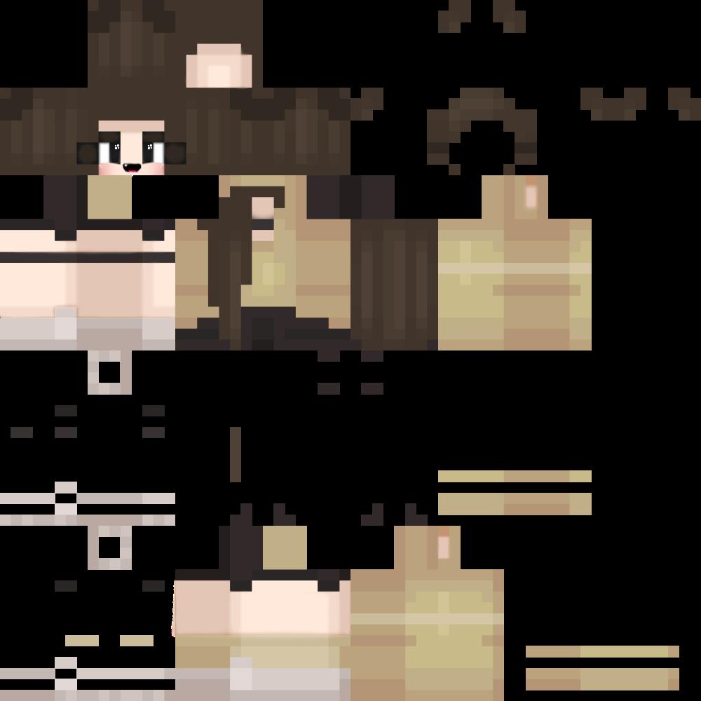 Happy Kim! Minecraft Skin HD Girl - Album on Imgur  Minecraft