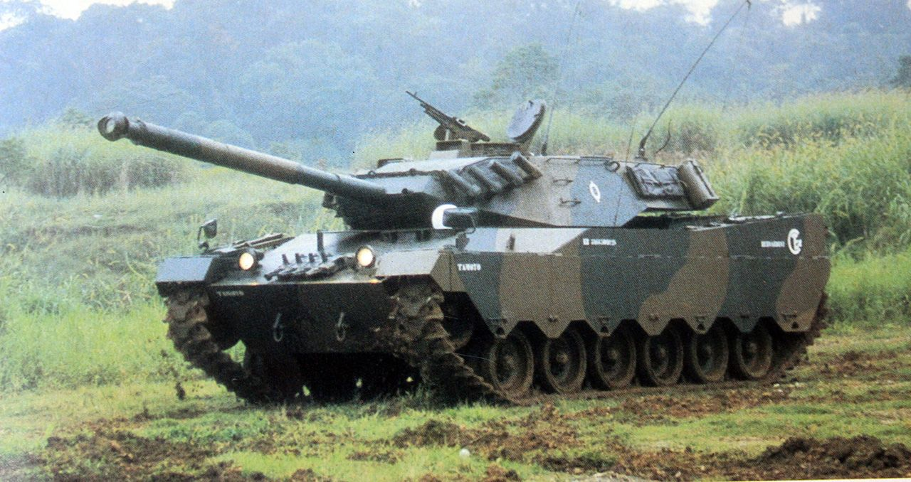 Tanque Tamoyo: outro sonho interrompido - Forças Terrestres - ForTe