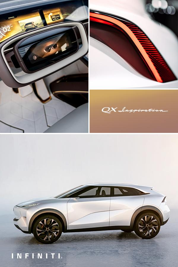 The Future Of Luxury Infiniti Qx Inspiration Infiniti Top Luxury Cars Crossover Cars