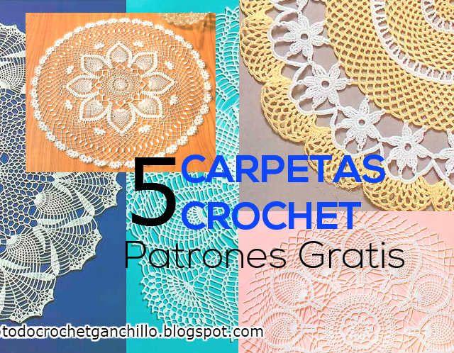 Todo crochet | Carpeta, Patrones y Patrón gratis