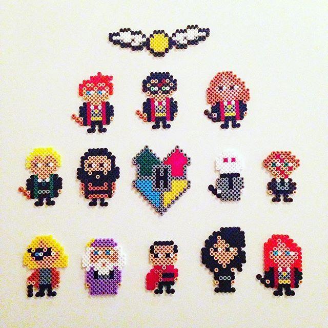 Harry Potter hama beads by billyholm | Harry potter | Pinterest ...