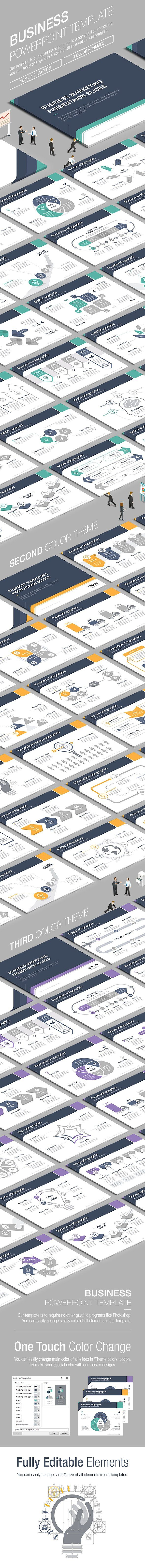 Business powerpoint template vol3 by lunik studio powerpoint business powerpoint template is to require no other graphics programs like photoshop you can easily change size am toneelgroepblik Gallery