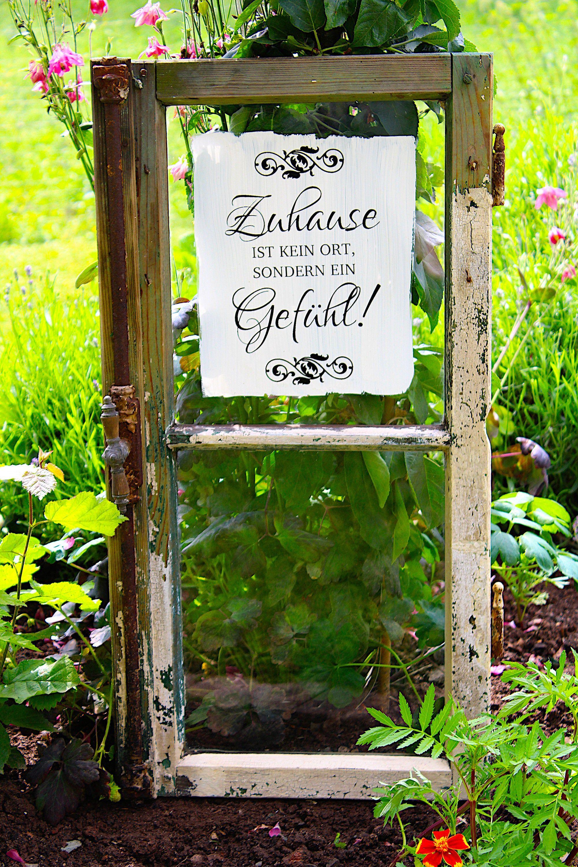 Shabby Chic Gartendeko Vintage Fenster Etsy Garten Deko Vintage Fenster Alte Fenster