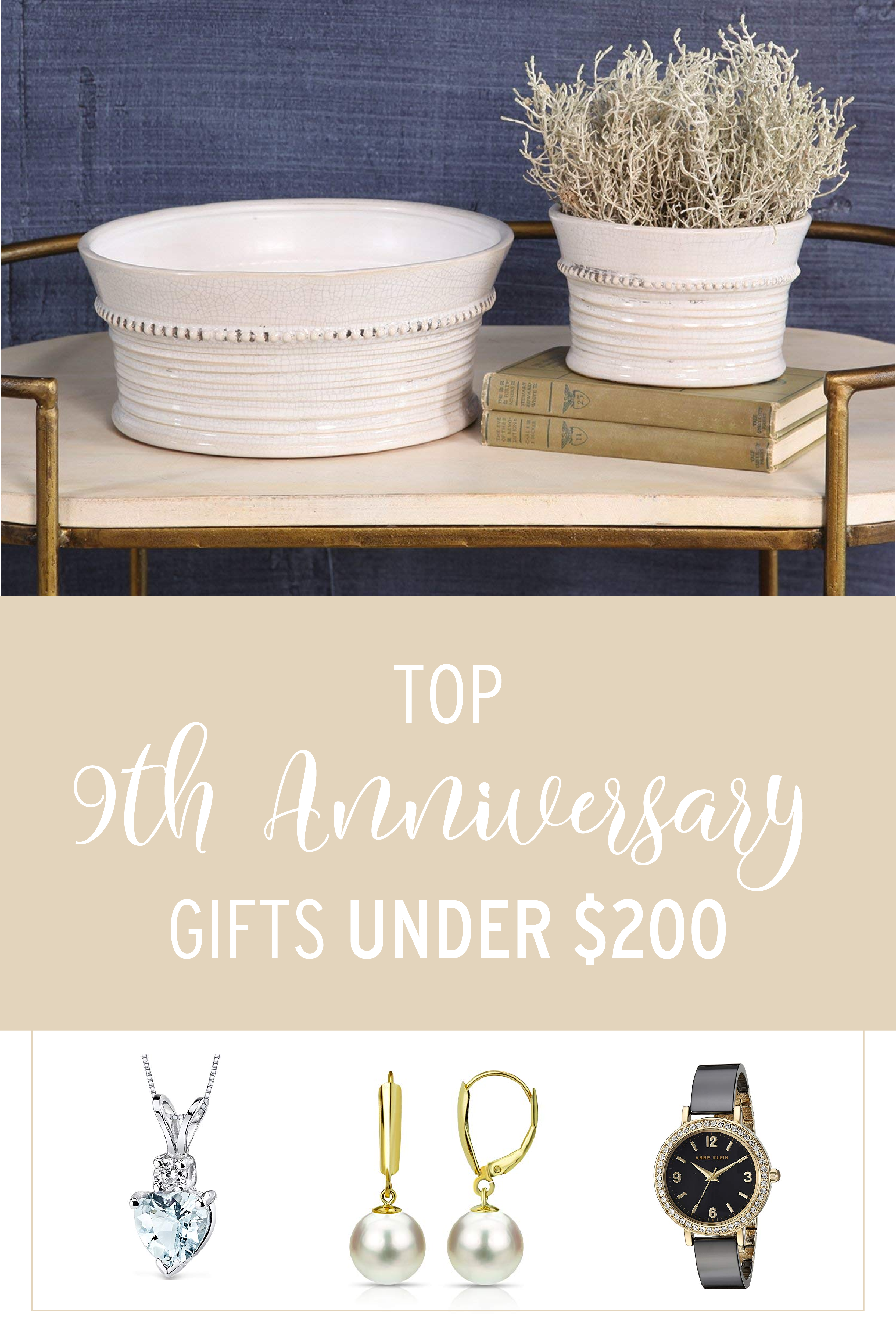 9th Anniversary Gifts for Her Under 200 Leather