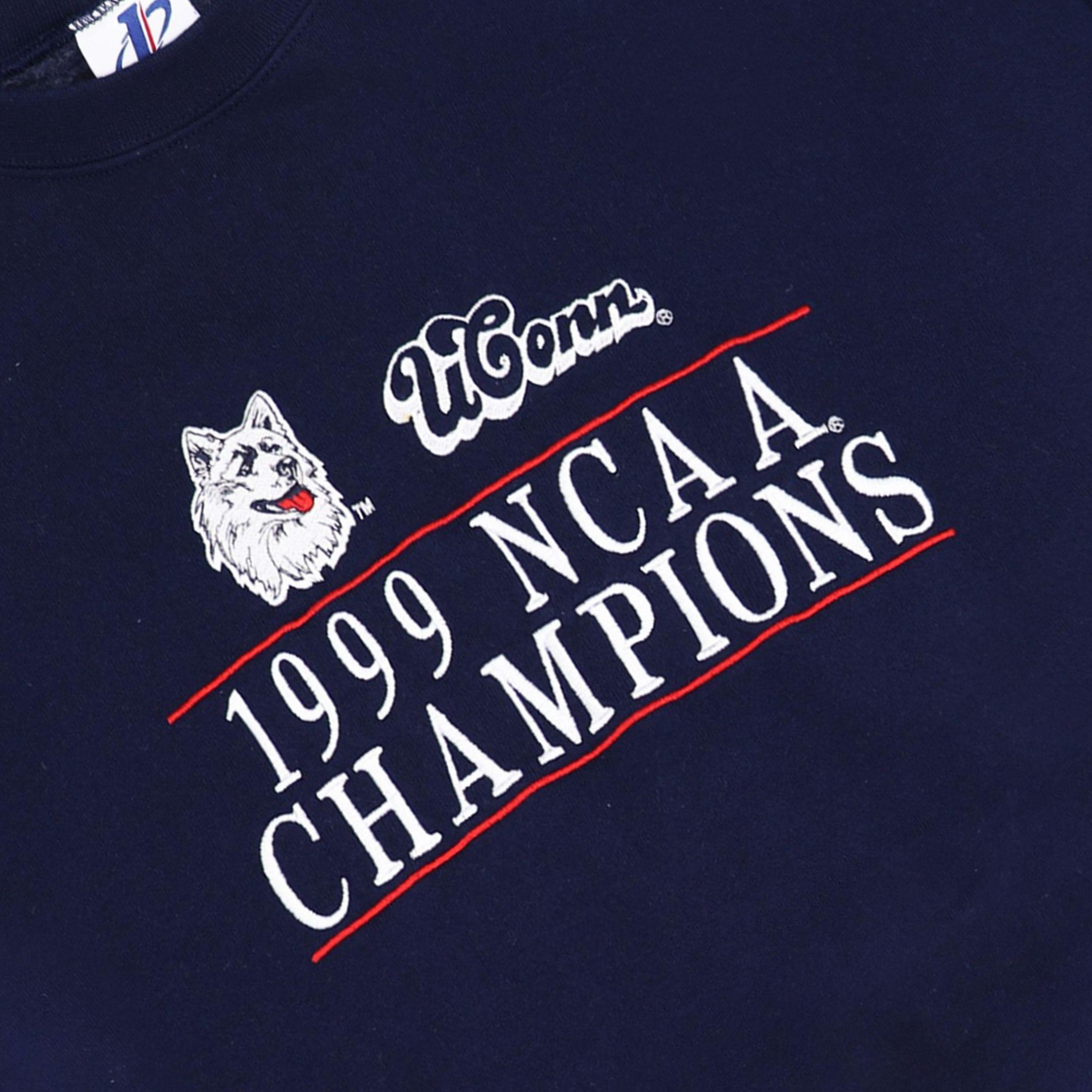 Vintage 1990 UConn NCAA Champions Crewneck | Ncaa champion ...