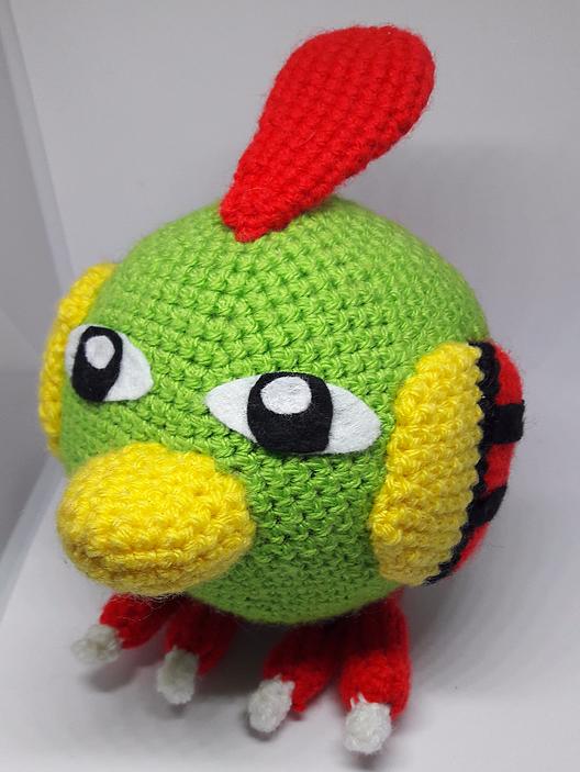 Free Natu Pokemon Crochet Pattern Crochet Patterns Pinterest
