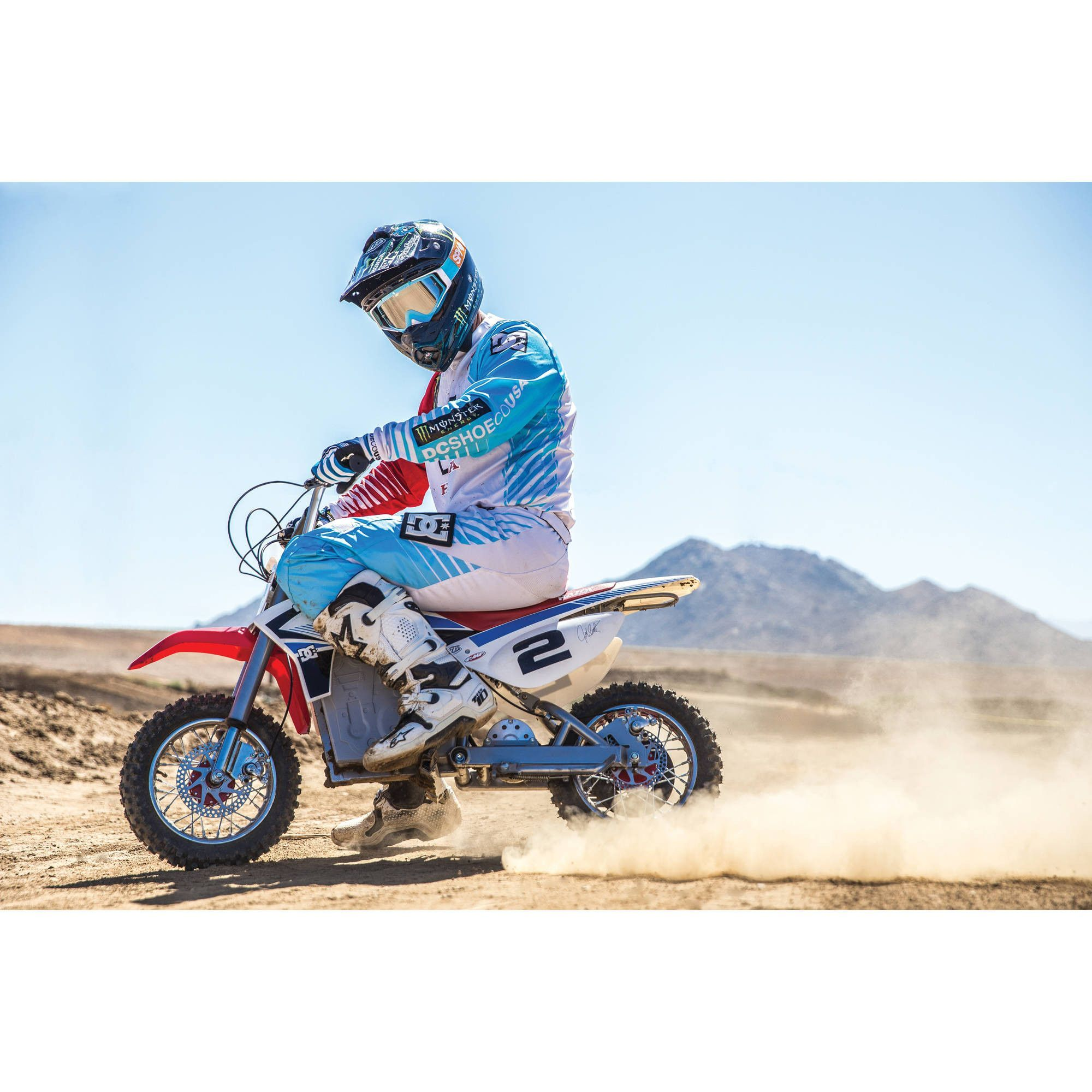 Razor Dirt Rocket 36v Mcgrath Electric Motocross Bike Only 5 In Stock Order Today Product Description It With Images Dirt Bikes For Kids Cool Dirt Bikes Motocross Bikes