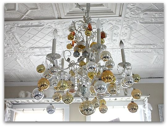 Decorate Chandelier for Christmas | Christmas | Pinterest ...