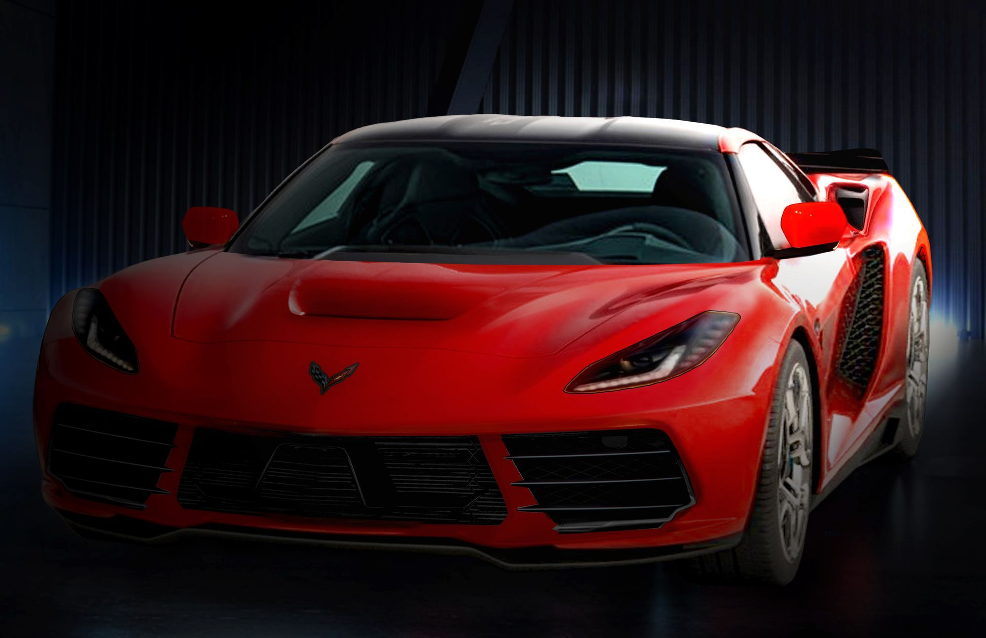 The 2020 Mid Engine Corvette Corvette