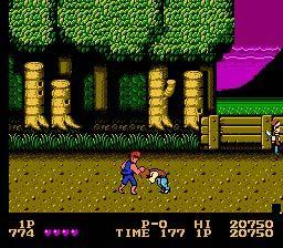 Double Dragon Nes Screenshot Screenshot 2 Double Dragon Nes