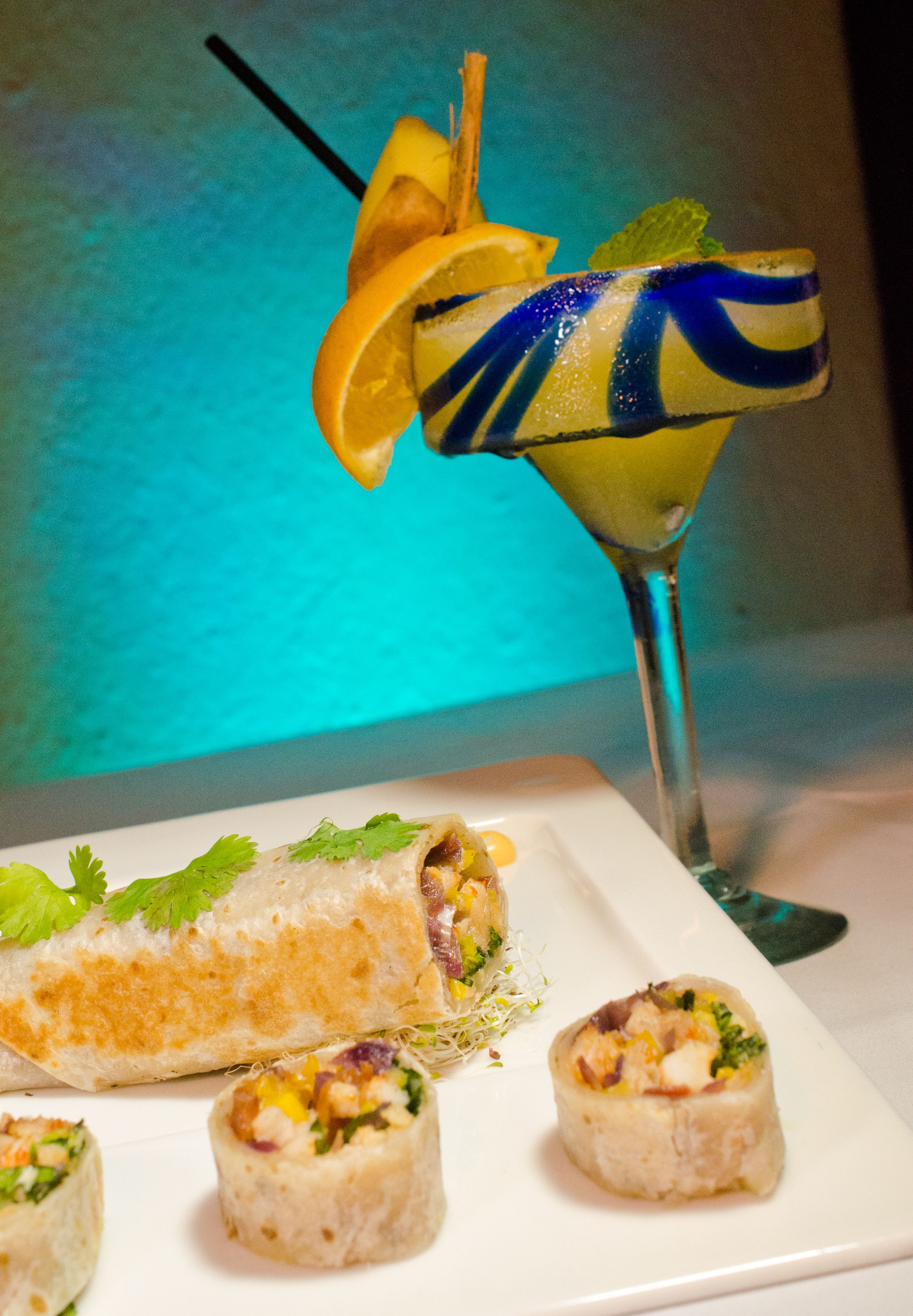 Delicious Margarita At Tequila Fusion Restaurant Me Cabo