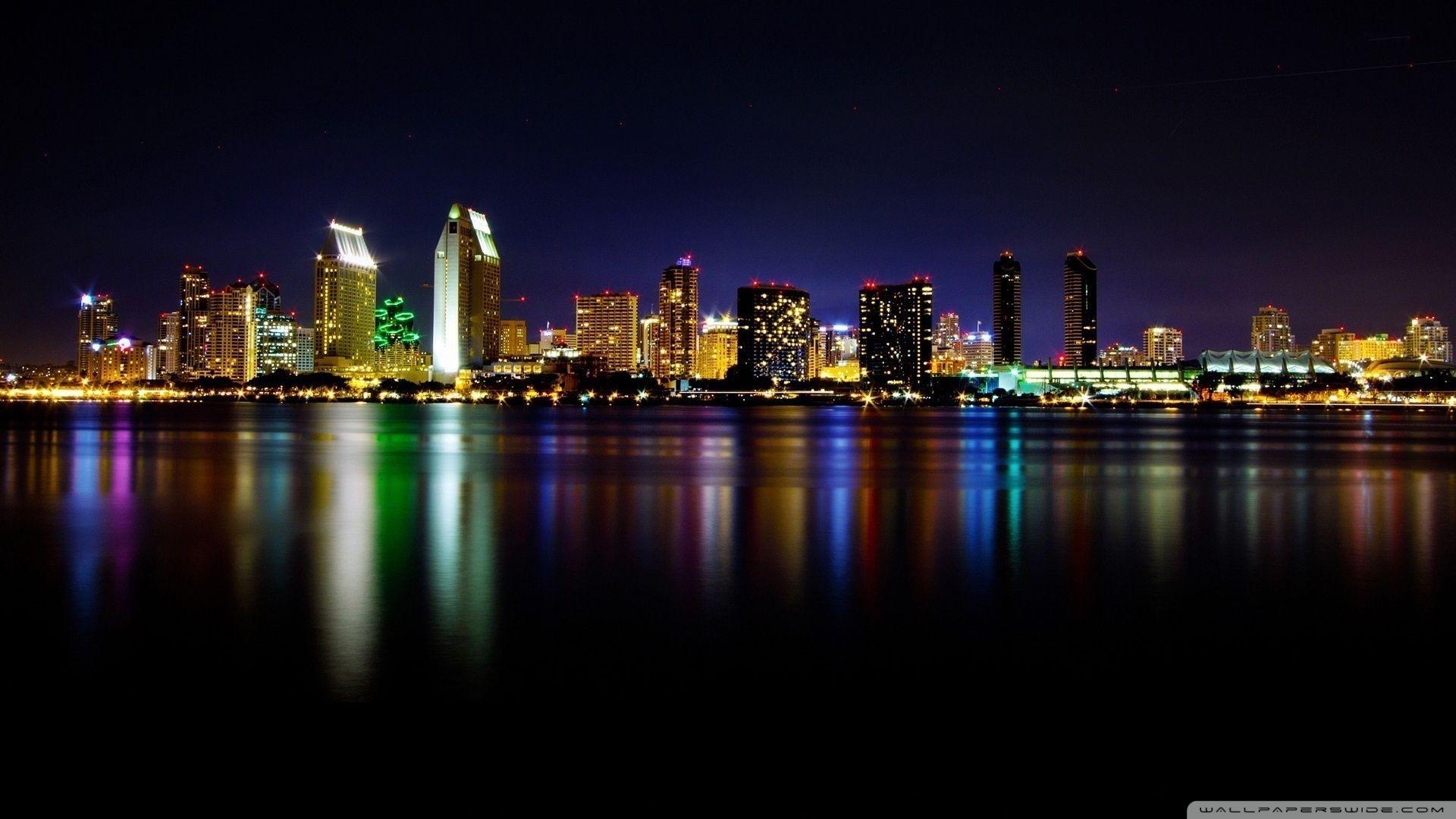 San Diego Skyline Wallpaper Google Search City Wallpaper San Diego Skyline Skyline