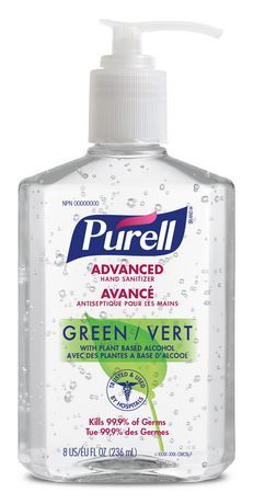 Purell Advanced Green Hand Sanitizer Products In 2019 Hand