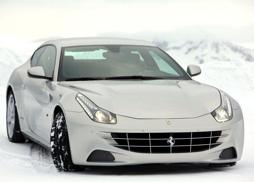 2012 Ferrari Ff Silver Front Side View Jegs Cartruck