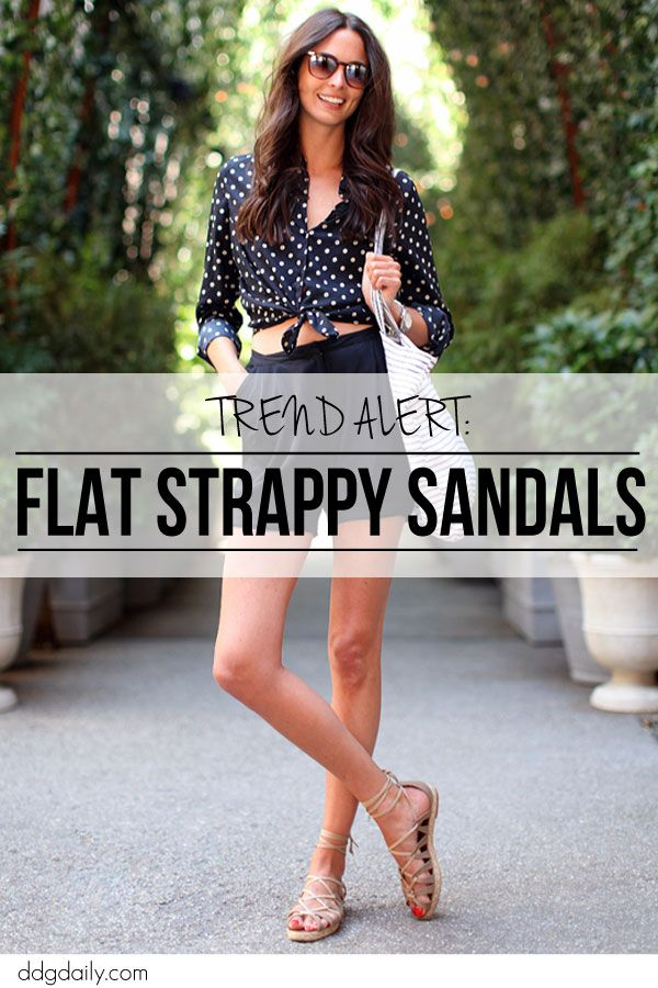 Strappy flat sandals: Ditch the shoepidity with these 15 tan sandals  | sole mates galleries feature fashion daily  picture