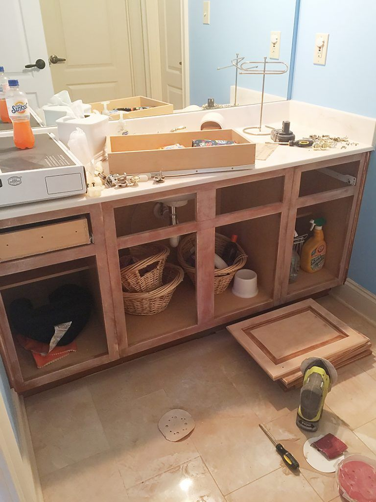 Photo of How to Refinish a Bathroom Vanity – Bower Power