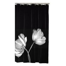 Tulip Shower Curtain Have This In The Guest Bath Love It White