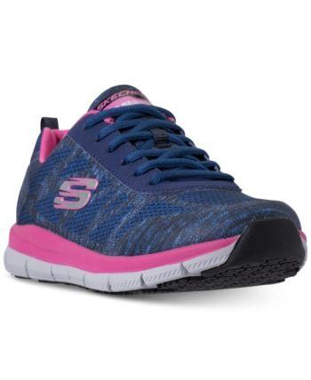 Skechers Women S Work Relaxed Fit Comfort Flex Pro Hc Slip