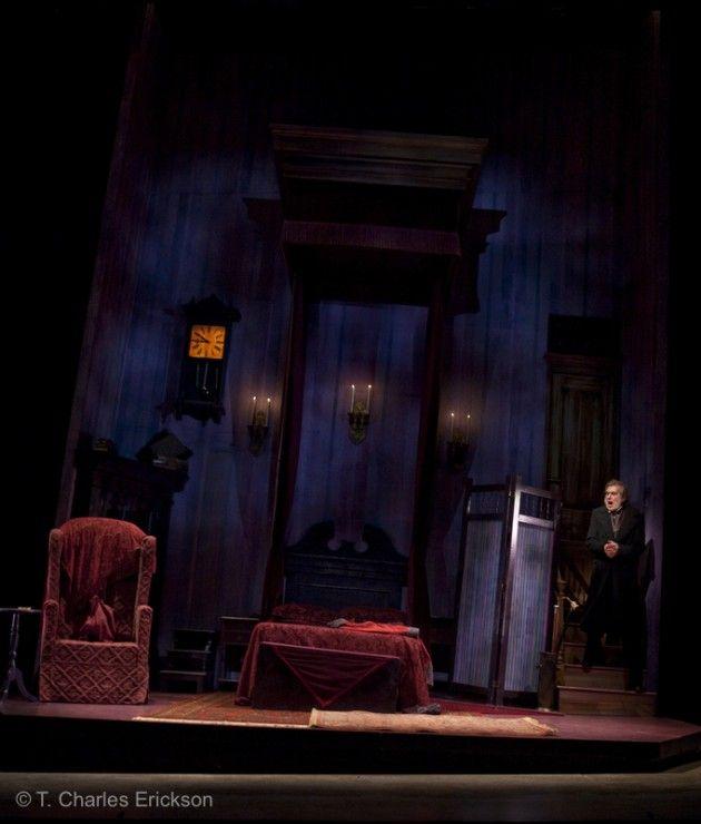 Scrooge Bedroom Scrooge Graeme Malcolm Enters His Cold Dank