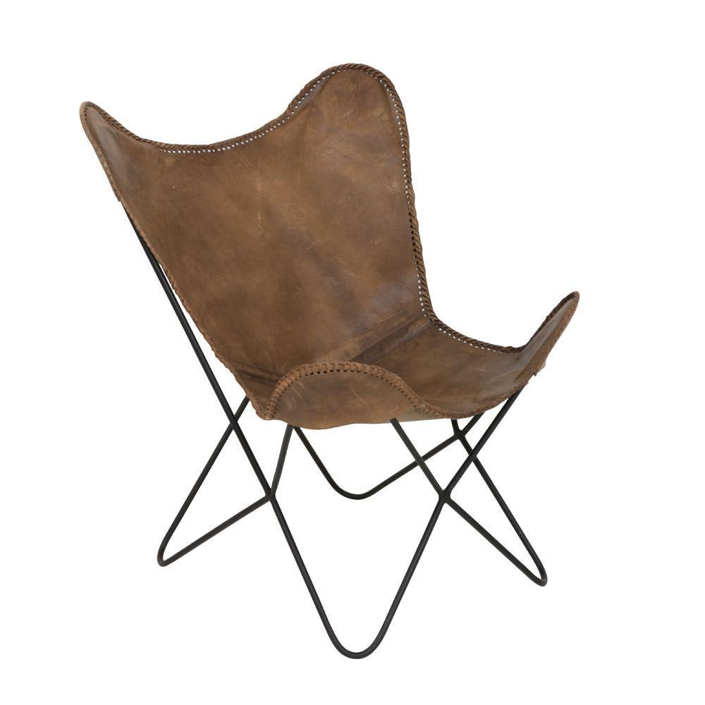 Brown Leather Butterfly Chair Stuhlede Com Stuhl Leder Schmetterling Stuhl Stuhle