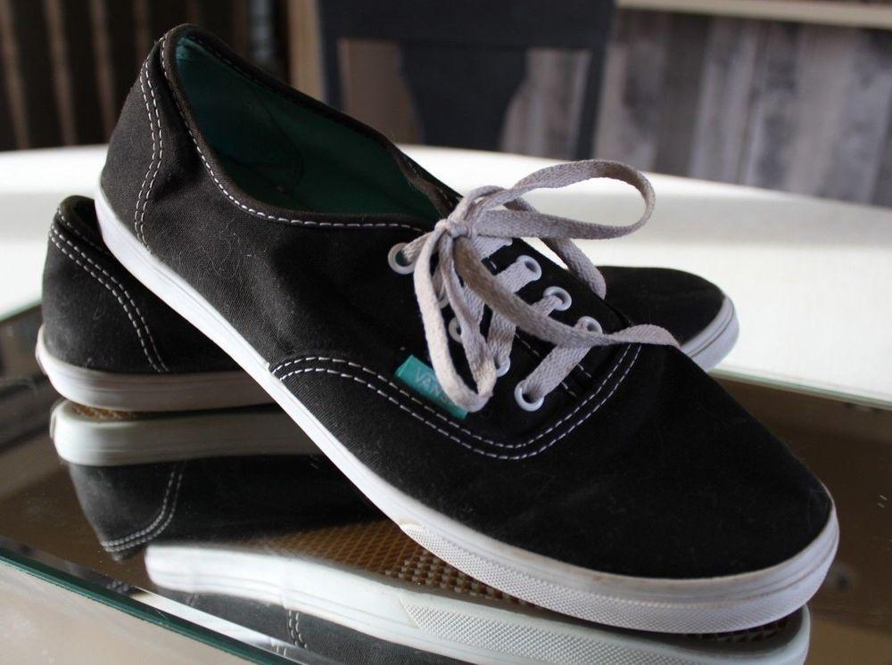 5a90fae48e Vans Authentic Lo Pro Black   True White Men 8.5 Women 10.0 Canvas Shoes   fashion