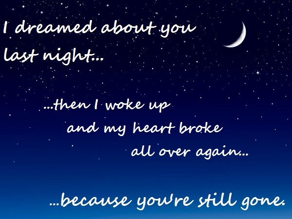 Dreamed About You