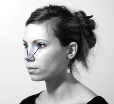 Visage femme trois quart dos recherche google help drawings human art et art tutorials - Visage profil dessin ...