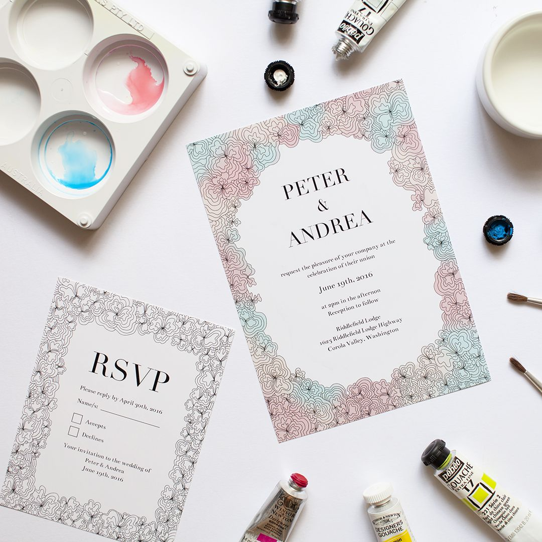 Top Ten Wedding Invitation Trends For 2015 2016 Wedding Invitation Card Design Digital Wedding Invitations Wedding Invitation Trends