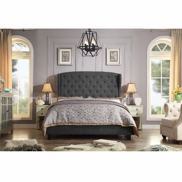 Found it at Wayfair - Mariabella Upholstered Panel Bed
