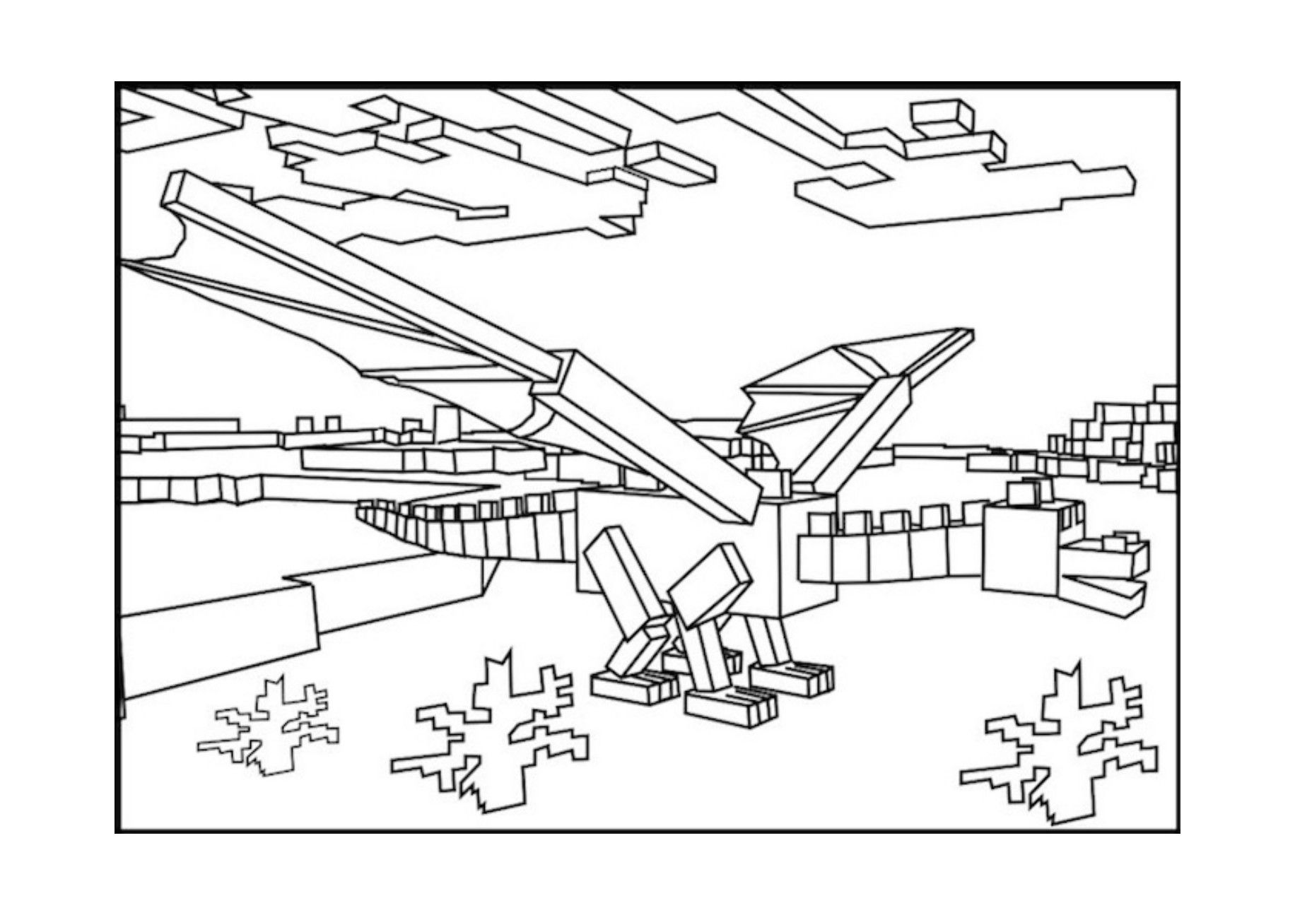 Fun Minecraft Coloring Pages Ideas For Kids Minecraft Coloring