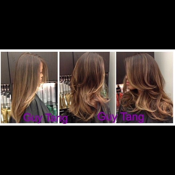 Straight or Curly Ombre by Guy Tang