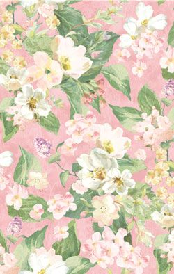 Wilmington Danhui Nai Subtle Song Packed Flowers Pink