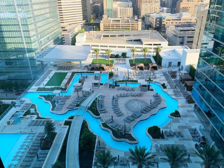 Float A Texas Shaped Lazy River In Downtown Houston Downtown Houston Houston City Downtown