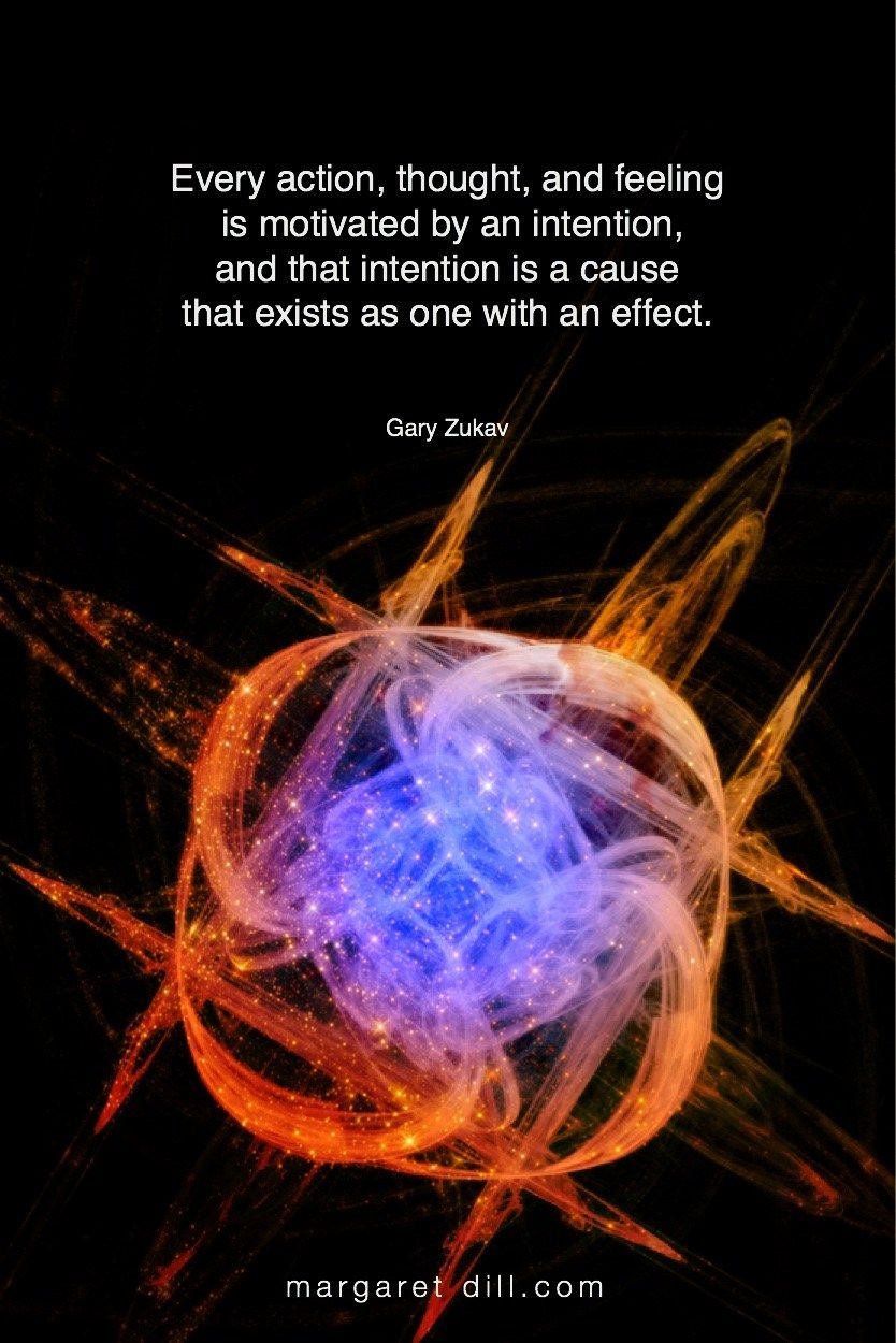 Every action, thought,... Gary Zukav Quote - blogger of inspirational quotes & design for dreamers store