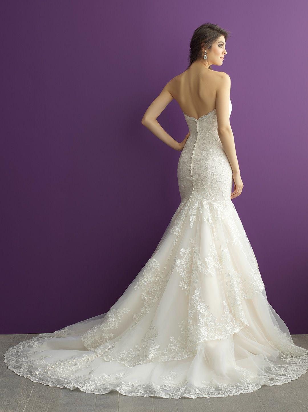Allure wedding dress  Allure Bridals Style   MeettheKuchmans  Pinterest  Allure