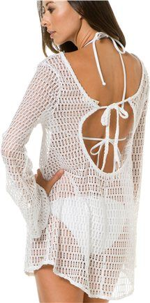a3accbf668 2Bamboo Cowl Neck Beach Dress  VonMaur  Swimwear  CoverUp