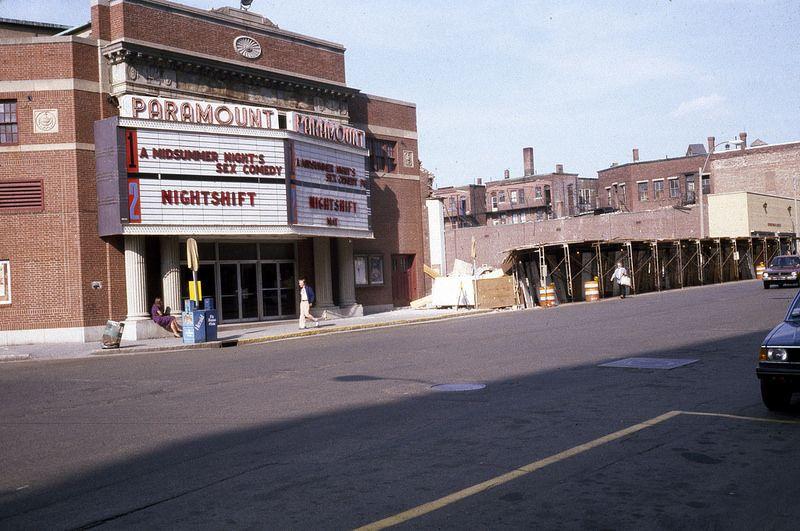 Paramount Theatre 1982