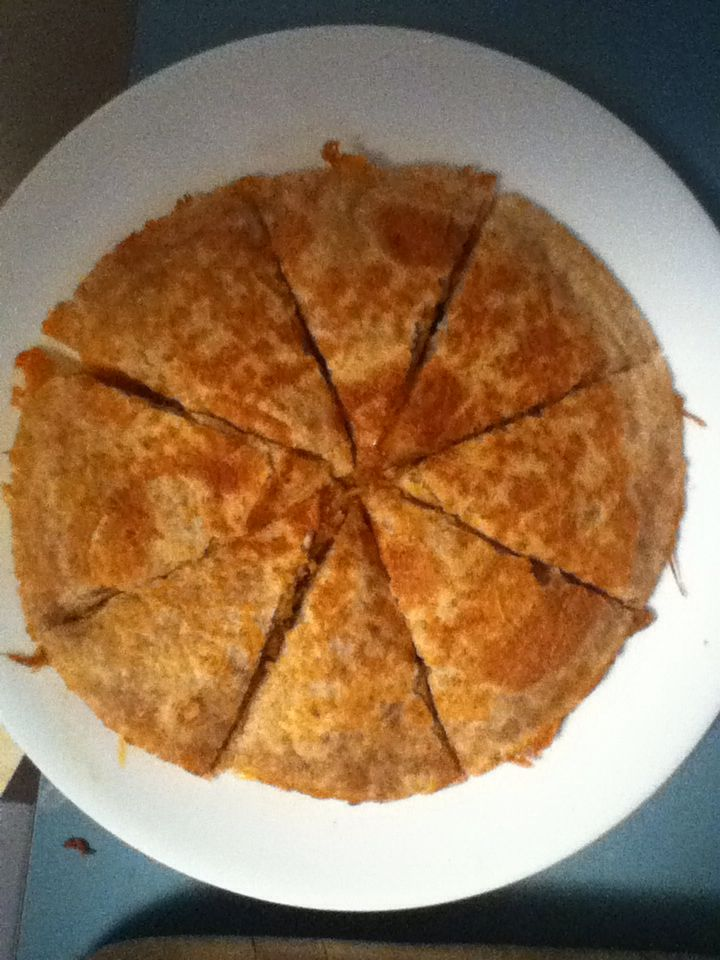 Pulled pork cheese Quesidilla