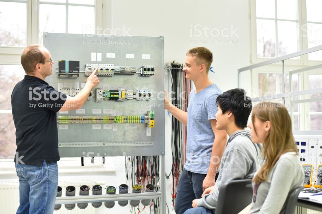 technical vocational training in industry young