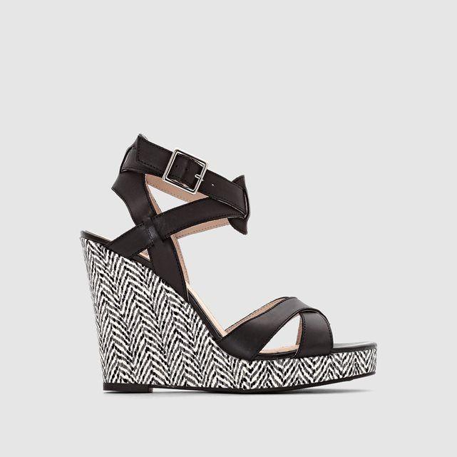 Sandales Camel atelier R   La Redoute Mobile   Wishlist Chaussures ... 93ace7b99d2b
