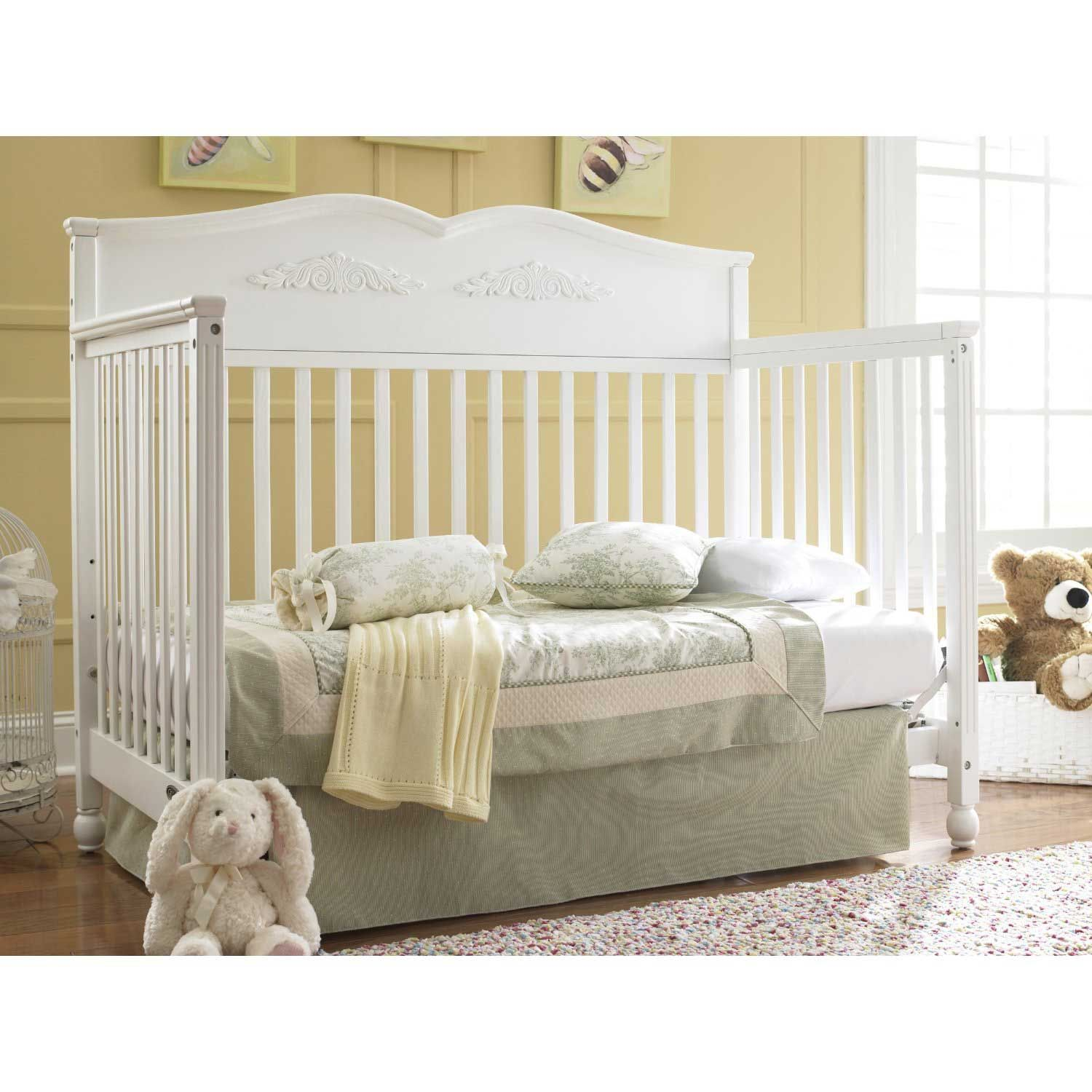 solid wood baby furniture. Discount White Durable Solid Wood 5 In 1 Convertible Baby Cribs Furniture N